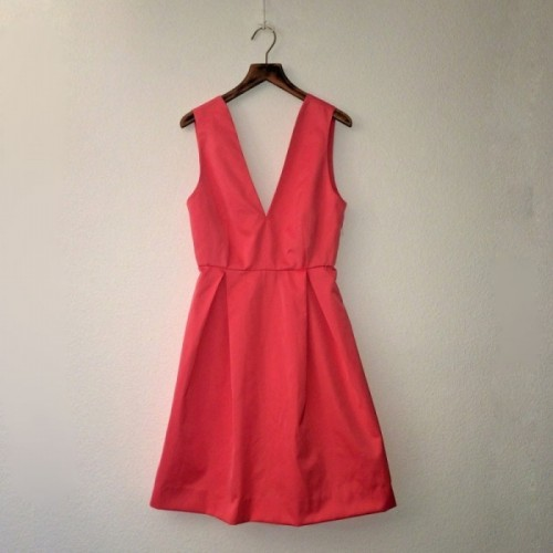 Salmon Azalee dress by Opian Geneva