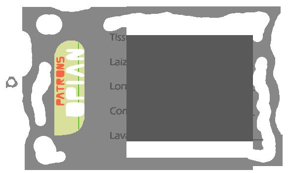 Etiquettes tissu pour fana de couture à télécharger gratuitement