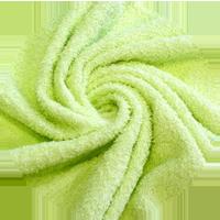 Tissu Hérens - vert limonade uni - Oekotex