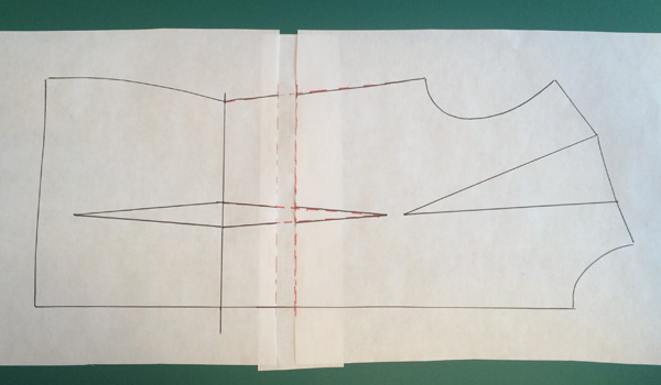How to lengthen a bodice