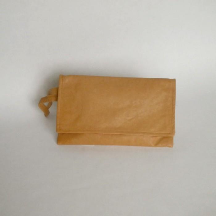 Pochette en cuir naturel - Versoix
