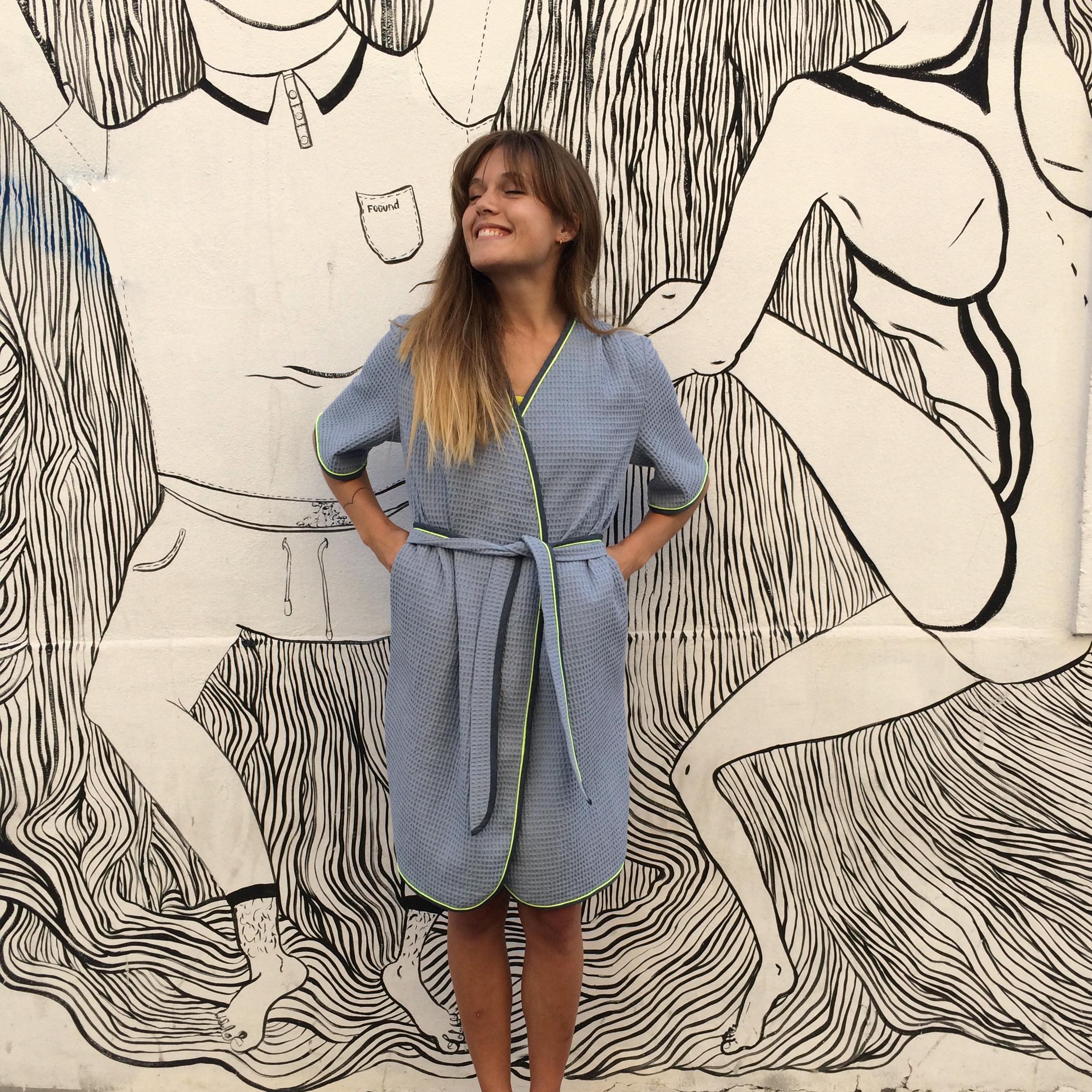 Patron de couture - Peignoire robe de chambre Hérens