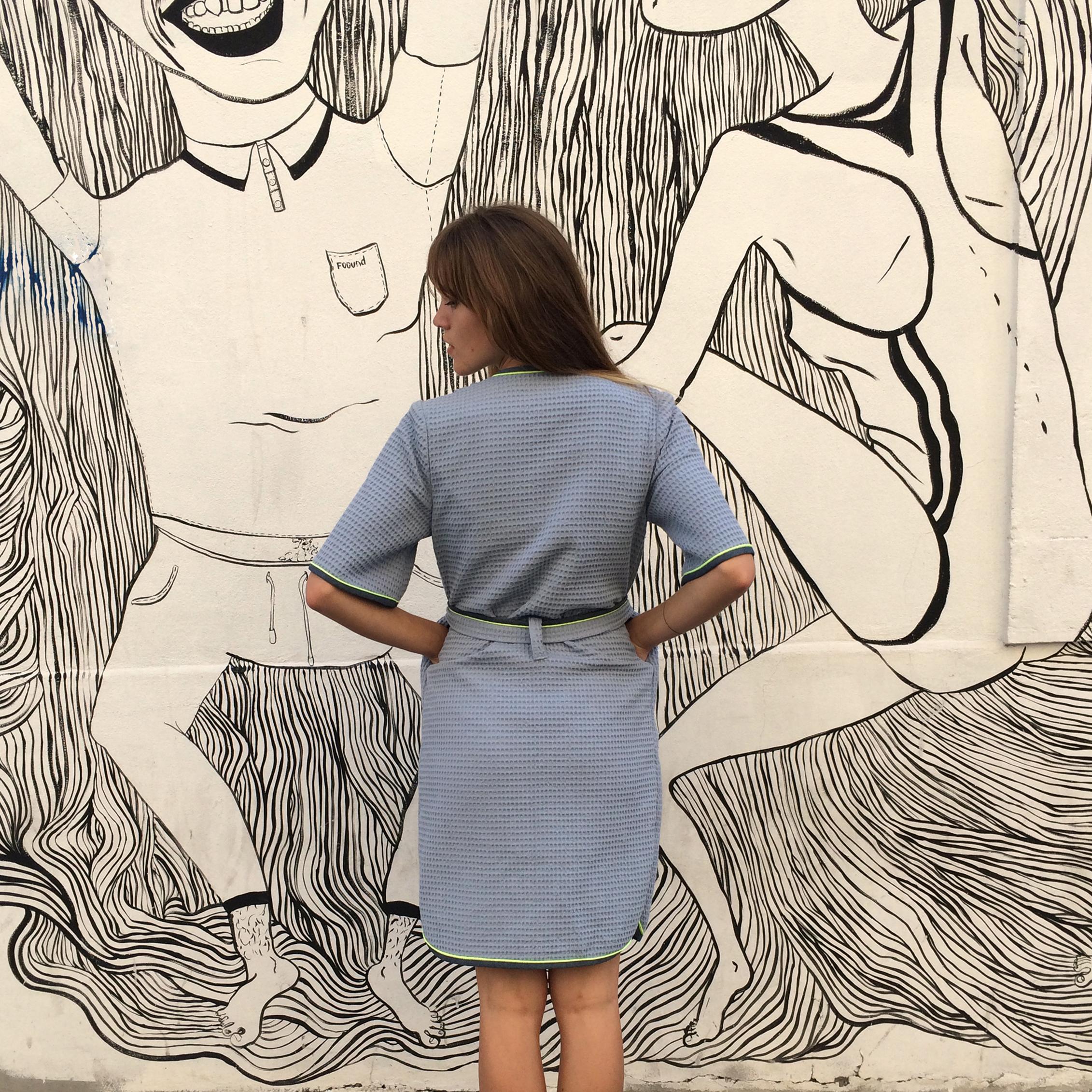 Patron de couture - Peignoir robe de chambre Hérens