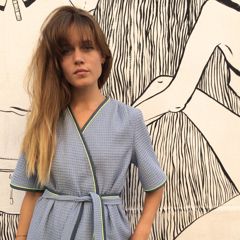 Patron de couture indé - Peignoir et robe de chambre Hérens