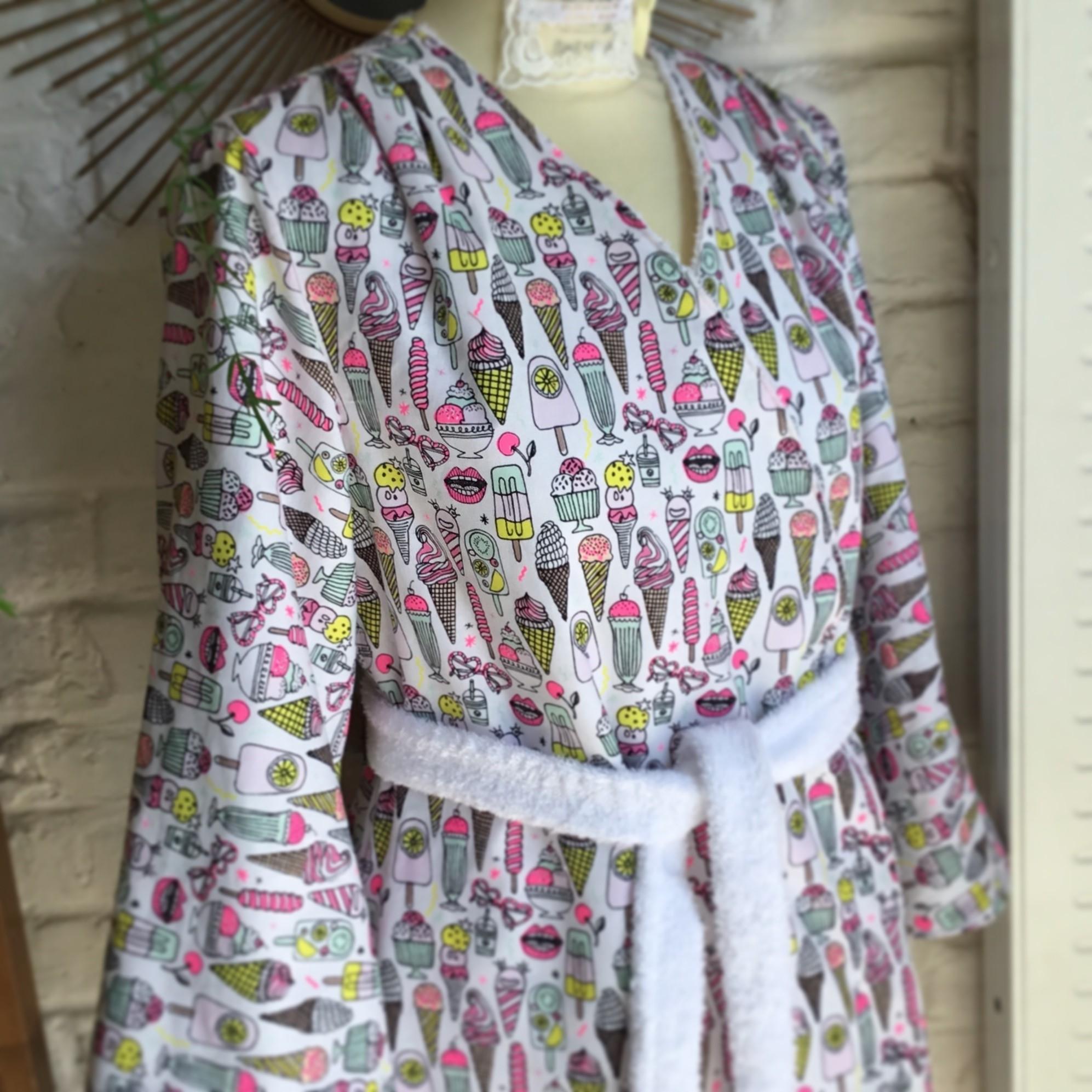 Patron de couture - Peignoir Hérens Poppy Sew