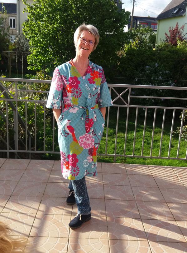 Patron de couture Opian - Robe de chambre Hérens