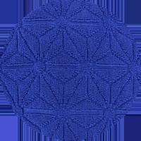 Tissus Hérens - Tissu éponge jacquard Bento
