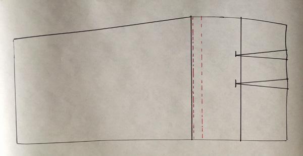 Modélisme: Comment raccourcir une jupe