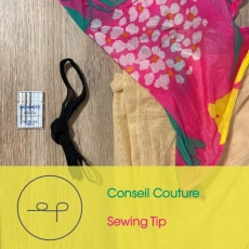 Sewing tip | Choosing supplies for a swimsuit |