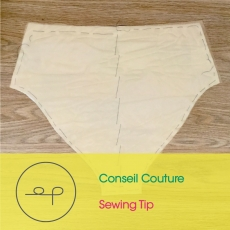 Sewing Tip | Interlining a fabric |